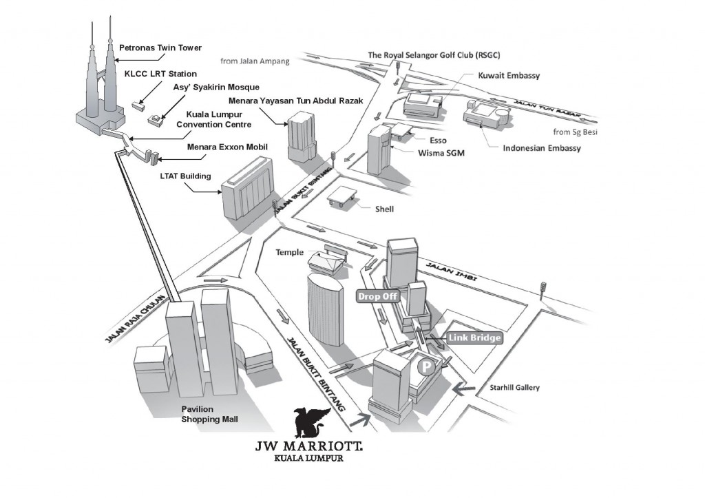 JW location map